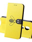 baratos Cases & Capas-Capinha Para Motorola Moto G7 / Moto G7 Plus / Moto G7 Play Carteira / Porta-Cartão / Antichoque Capa Proteção Completa Sólido / Animal Rígida PU Leather
