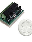 Χαμηλού Κόστους Καλώδια & Φορτιστής-Smart Switch AK-RK04+AK-S0S04B για Καθημερινά / Αυτοκίνητο / Αυλή Δημιουργικό / Πολυλειτουργία / Εύκολη εγκατάσταση Τηλεχειριστήριο Ασύρματη 12 V