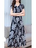 olcso Női ruhák-Női Alap Hüvely Ruha Mértani Maxi