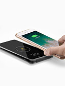 billige Mobiltelefon kabler-D8 Rask lader / Trådløs Lader USB-lader USB med kabel / QC 3.0 / Trådløs Lader Ikke støttet 3 A DC 12 V / DC 9V / DC 5V til iPhone X / iPhone 8 Plus / iPhone 8