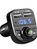 billige Smartwatch Bands-fm sender aux modulator bluetooth handsfree bilmontering bil lyd mp3-spiller med 3.1a rask ladning dual usb bil lader