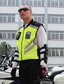 billige Bikinis-motorsykkel ridning reflekterende vest lag uniform fluorescerende sikkerhetsjakke