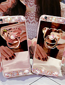 billige iPhone-etuier-Etui Til Apple iPhone XR / iPhone XS Max med stativ Bakdeksel Dyr / Panda Myk TPU
