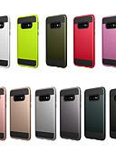baratos Cases & Capas-Capinha Para Samsung Galaxy S10e Anti-poeira / Áspero Capa traseira Sólido PC