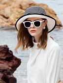 Χαμηλού Κόστους Άλλη περίπτωση τηλεφώνου-Φυσική Ίνα Ψάθινα καπέλα με Φιόγκος / Συνδυασμός χρωμάτων 1pc Causal / Καθημερινά Ρούχα Headpiece