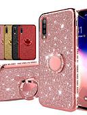 povoljno Samsung oprema-dijamant 360 stupnjeva rotirajući prsten držač plating mekani tpu glitter bling slučajevi za samsung a70 a50 a40 a30 a20 a10 a7 2018 a8 plus 2018 a8 2018 a6 plus 2018 a6 2018 svijetli slučaj