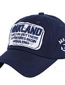 ราคาถูก หมวกสตรี-ทุกเพศ กาแล็คซี่ ฝ้าย พื้นฐาน-หมวกเบสบอล สีดำ ขาว สีแดงชมพู