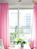 billige Etuier/deksler til Huawei-Ren To paneler Ren Stue   Curtains / Mønstret