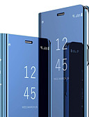 billige Samsung-tilbehør-Etui Til Samsung Galaxy S8 med stativ / Flipp Heldekkende etui Ensfarget Hard PC