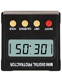 baratos Protetores de Tela para iPhone-360 grau mini digital inclinômetro transferômetro eletrônico de nível de caixa magnética ferramentas de medição de base