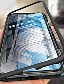billige iPhone-etuier-Etui Til Apple iPhone XS / iPhone XR / iPhone XS Max Støtsikker / Ultratynn / Magnetisk Heldekkende etui Ensfarget Hard Herdet glass / Metall