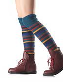 baratos Moda Íntima Exótica para Homens-Mulheres Meião / Aquecedores de perna Muito Quente Bege Azul Marinha Khaki Tamanho Único