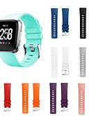 baratos Bandas de Smartwatch-Pulseiras de Relógio para Fitbit Versa Fitbit Fecho Moderno Silicone Tira de Pulso