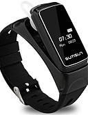 povoljno Pametni satovi-Smart Satovi Šiljci za meso Moderna Sportski Silikon 30 m Vodootpornost Heart Rate Monitor Bluetooth Šiljci za meso Ležerne prilike Outdoor - Crn Obala Zlato