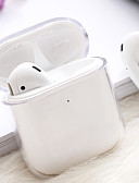 billige AirPods Cases-Etui Til AirPods Støtsikker / Støvtett Headphone Case Hard