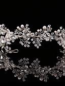 Χαμηλού Κόστους Αξεσουάρ-Κράμα Τιάρες με Κρυσταλλάκια 1 Τεμάχιο Γάμου / Γενέθλια Headpiece
