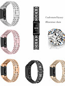 povoljno Smartwatch bendovi-Remen za sat od nehrđajućeg čelika za fitbit naboj 3 pametni sat