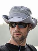 Χαμηλού Κόστους Men's Hats-Boonie καπέλο 1 τμχ Φορητό Αντιανεμικό Κατά της ακτινοβολίας Άνετο Συμπαγές Χρώμα Τερυλίνη Φθινόπωρο για Ανδρικά Γυναικεία Κατασκήνωση / Πεζοπορία / Εξερεύνηση Σπηλαίων Ταξίδι Γκρίζο