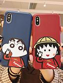 baratos Capinhas para iPhone-Capinha Para Apple iPhone XS / iPhone XR / iPhone XS Max Anti-poeira / Estampada Capa Proteção Completa Desenho Animado Macia TPU