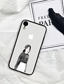 povoljno Maske za mobitele-slučaj za iphone x xs max xr xs natrag kućište meki pokrov tpu crtani art art girl tpu za iPhone5 5s se 6 6p 6s sp 7 7p 8 8p