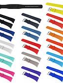 baratos Bandas de Smartwatch-Pulseiras de Relógio para Gear Fit Pro Samsung Galaxy Pulseira Esportiva / Fecho Clássico Silicone Tira de Pulso