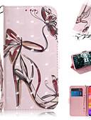 baratos Capinhas para Xiaomi-Capinha Para Xiaomi Xiaomi Redmi Note 6 / Xiaomi Pocophone F1 / Xiaomi Redmi 6 Pro Carteira / Porta-Cartão / Antichoque Capa Proteção Completa Borboleta / Desenhos 3D PU Leather