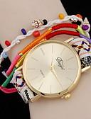 זול שעונים-בגדי ריקוד נשים לעטוף את השעון קווארץ שעונים יום יומיים אנלוגי קלסי - לבן