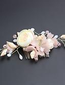 Χαμηλού Κόστους Θήκες iPhone-Τούλι / Κράμα με Λουλούδι 1 Τεμάχιο Γάμου / Causal Headpiece