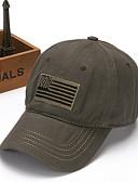 Χαμηλού Κόστους Men's Hats-Ανδρικά Φλοράλ Βασικό Πολυεστέρας Τζόκεϊ Καφέ Μαύρο Πράσινο Χακί