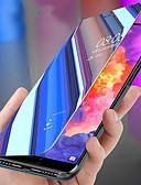 Χαμηλού Κόστους Θήκες / Καλύμματα για Huawei-tok Για Huawei Huawei P20 / Huawei P20 Pro / Huawei P20 lite Ανθεκτική σε πτώσεις / με βάση στήριξης / Καθρέφτης Πλήρης Θήκη Μονόχρωμο PC