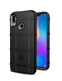 billige Etuier/deksler til Huawei-Etui Til Huawei nova 3 Støtsikker / Støvtett / Matt Bakdeksel Ensfarget Myk TPU