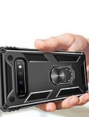 baratos Acessórios para Samsung-Armadura de luxo macio à prova de choque case na para samsung galaxy s10 além de s10 5g s10e s10 s9 além de s9 s8 mais s8 titular do carro de silicone anel caso