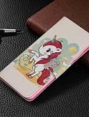 baratos Capinhas para Xiaomi-Capinha Para Xiaomi Xiaomi Redmi 6 Pro / Xiaomi Redmi Note 7 / Xiaomi Redmi 7 Carteira / Porta-Cartão / Com Suporte Capa Proteção Completa Animal Rígida PU Leather
