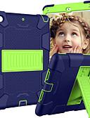 baratos caso do iPad-Capinha Para Apple iPad Mini 5 / iPad Mini 4 Com Suporte / Caso seguro para as crianças Capa traseira Armadura silica Gel