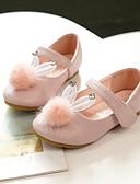 ราคาถูก เสื้อฮู้ดและเสื้อกันหนาวสเว็ตเชิ้ตผู้หญิง-เด็กผู้หญิง ความสะดวกสบาย / รองเท้าสาวดอกไม้ Microfibre รองเท้าส้นเตี้ย เด็กน้อย (4-7ys) / Big Kids (7 ปี +) ปมผ้า สีดำ / สีชมพูอ่อน / คริสตัล ฤดูใบไม้ผลิ / ตก / พรรคและเย็น / ยาง