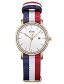 baratos Relógios-Mulheres Relógio Elegante Quartzo 30 m Impermeável Relógio Casual Analógico Casual Fashion - Branco Um ano Ciclo de Vida da Bateria / Aço Inoxidável