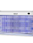 baratos Cabos de telefone celular-TZZ-20WP Lâmpadas de mosquito-assassino LED Emissores Portátil A Prova de Ventos Durável Campismo / Escursão / Espeleologismo Uso Diário Pesca Prata