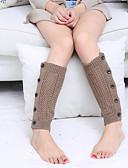 billiga Herrunderkläder och strumpor-Ultravarm Sexig Socka / Benvärmare Dam Kamel Khaki grön Ljusgrå En Storlek