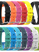 baratos Bandas de Smartwatch-faixa de relógio da substituição da correia de pulso do silicone do tamanho grande para o vivofit 1/2 de garmin