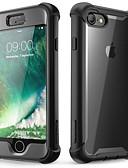 זול מגנים לאייפון-מגן עבור Apple iPhone 8 / iPhone 7 עמיד בזעזועים / עמיד לאבק כיסוי מלא / באמפר אחיד רך TPU