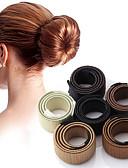billiga Kvinnors hårtillbehör-Dam Elegant Specialmaterial Enfärgad