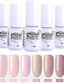 Χαμηλού Κόστους Βερνίκια & Τζελ Νυχιών-6 τεμάχια χρώματος 13-18 xyp ενυδατωμένο UV / led gel νυχιών στιλβωμένο στερεό χρώμα νυχιών σύνολα λάκα