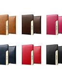 billige iPhone-etuier-Etui Til Apple iPad Mini 5 / iPad Air / iPad 4/3/2 Magnetisk Heldekkende etui Ensfarget Hard PU Leather