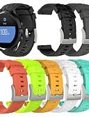 Χαμηλού Κόστους Ασύρματοι φορτιστές-smartwatch ζώνη για Suunto Spartan σπορ ρολόι βραχίονα hr / suunto 9 baro αθλητικό συγκρότημα μόδας μαλακό λουρί καρπού σιλικόνης