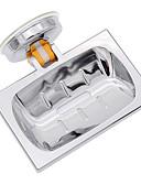 Χαμηλού Κόστους Θήκες / Καλύμματα για Xiaomi-τετράγωνο σχήμα επιμεταλλωμένο κλασικό μπάνιο ντους νεροχύτης σαπούνι πιάτο κάτοχος καλάθι κενού βεντούζα κύπελλο διακόσμηση δεν γεώτρηση