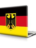 baratos Bandas de Smartwatch-escudo da tampa do pvc da bandeira de Alemanha para o caso do telefone da retina do ar do macbook pro 11/12/13/15 (a1278-a1989)