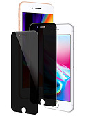 baratos Protetores de Tela para iPhone-Protetor de tela para apple iphone 6 / iphone 6 mais / iphone 6s vidro temperado 2 pcs protetor de tela frontal 9h dureza / 2.5d borda curvada / privacidade anti-espião
