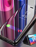 זול מגנים לטלפון-מגן עבור Xiaomi Xiaomi Mi 9T / Xiaomi Mi 9T Pro / Redmi K20 Pro מראה / נפתח-נסגר / שינה / השכמה אוטומטי כיסוי מלא אחיד קשיח PC
