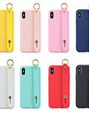 baratos Capinhas para iPhone-Capinha Para Apple iPhone XS / iPhone XR / iPhone XS Max Com Suporte / Áspero Capa traseira Sólido TPU