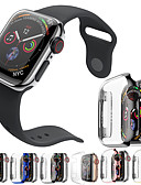 billige Smartwatch Case-PC-plating beskyttende case cover band for Apple Watch serien 4/3/2/1 40/44/38 / 42mm